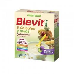 BLEVIT Plus Duplo 8 Cereales y Frutas 600gr