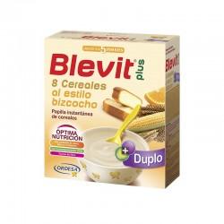 BLEVIT Plus Duplo 8 Cereales Bizcocho y Naranja 600g