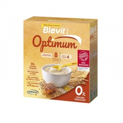 BLEVIT Plus Optimum Papilla 8 Cereales con Miel 400g