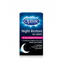 OPTREX Gel Reparador Noche Ojos Secos Irritados y Cansados 10ML