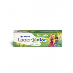 LACER Junior Gel Dentrífico Sabor Menta 75ML