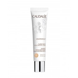CAUDALIE Vinoperfect Fluido con Color Piel Perfecta FPS20 Light
