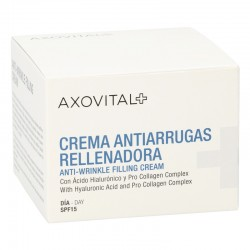 AXOVITAL Crema Antiarrugas Rellenadora Día Spf15 (50ml)