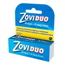 Zoviduo 50/10mg Crema 1 tubo 2gramos