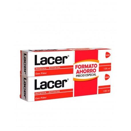 LACER Flúor Pasta Dentrífica 2x125ML