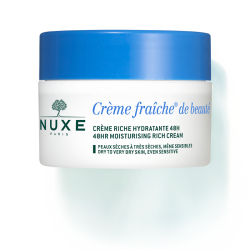 NUXE Crema Hidratante 48H Pieles Normales. Crème fraîche de Beauté 50 Ml.