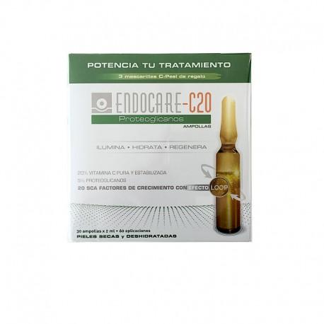 ENDOCARE-C20 Proteoglicanos Ampollas 30x2ML