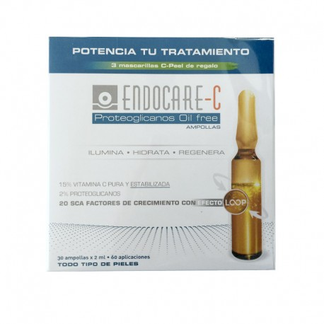 ENDOCARE-C Proteoglicanos Oil Free Ampollas 30x2ML