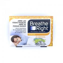 Breathe Right Tiras Nasales Junior (10 unid)