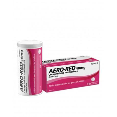 AERO RED 40MG 100 Comprimidos Masticables