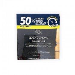 MARTIDERM Ampollas Black Diamond Skin Complex x30 + Platinum Night Renew x10