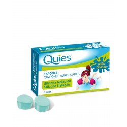 QUIES Tapon Silicona Natacion Infantil