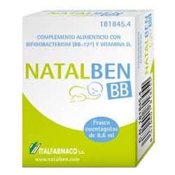 Natalben BB. Frasco cuentagotas de 8,6 ml