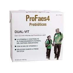 PROFAES4 Probióticos Adultos 25 mm 30 caps.