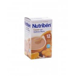 NUTRIBÉN Cacao con Galletas María 600G