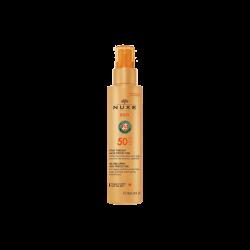 NUXE Sun Leche Corporal y Facial En Spray Spf 50 150 Ml