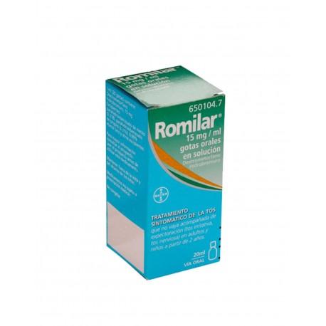 Romilar Gotas 15 mg/ml 20ML