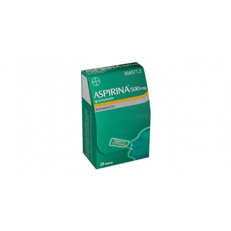 BAYER Aspirina 500 mg 10 Sobres Granulado