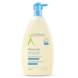 A-derma Primalba Gel limpiador 2 en 1 750ML