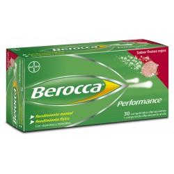 BAYER BEROCCA Performance Frutos Rojos 30 Comprimidos Efervescentes