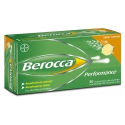 BAYER BEROCCA Performance Naranja 30 Comprimidos Efervescentes