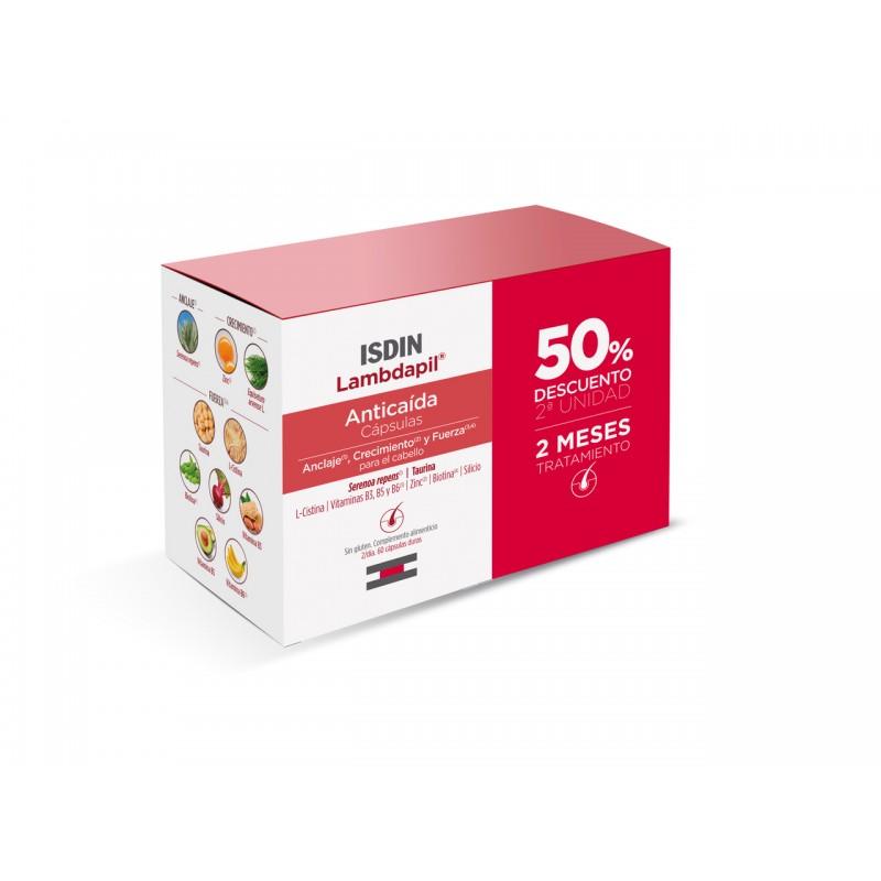 ISDIN Lambdapil Anticaída 60 cápsulas Promoción Duplo