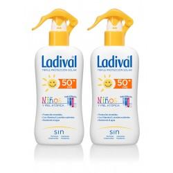 LADIVAL Niños Spray Piel Atópica SPF50+ DUPLO 2x200ml