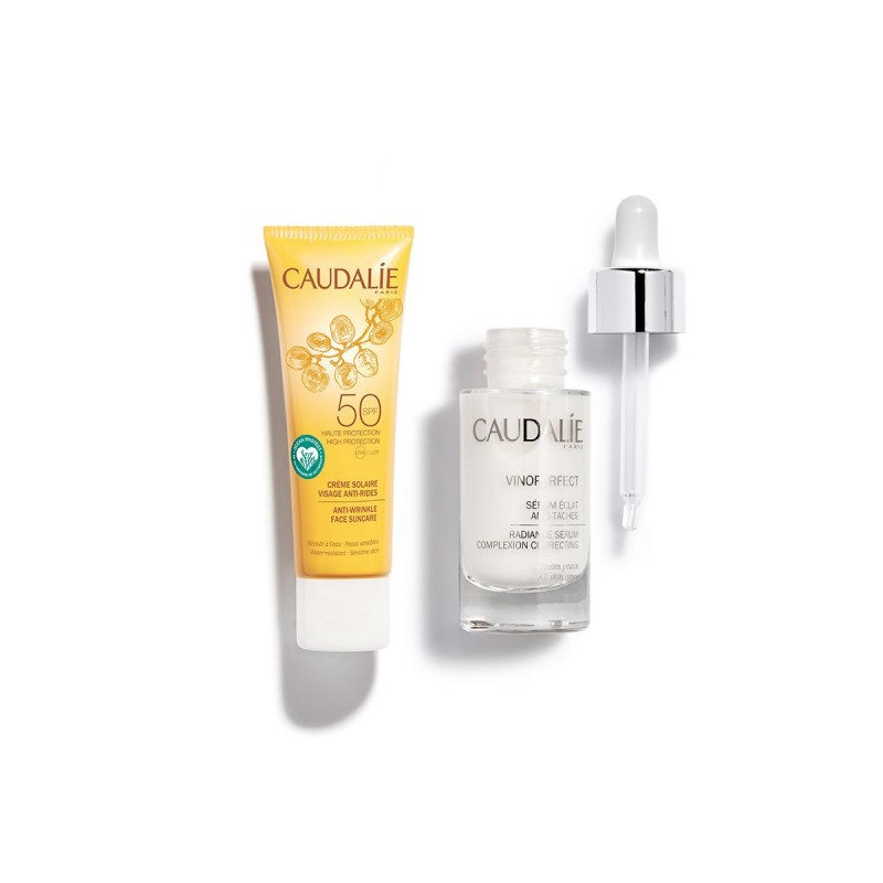 CAUDALIE Cofre Vinoperfect Sérum  30ML + Regalo Solar Anti Arrugas 25 ml SPF50