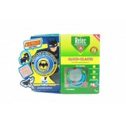 Relec Pulsera Anti-Mosquitos Infantil Click-Clack Batman