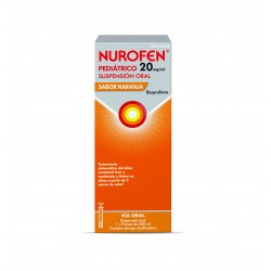 Nurofen Pediátrico 20MG/ML Naranja 200ML