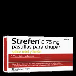 STREFEN Miel-Limón 8.75 MG 16 Pastillas
