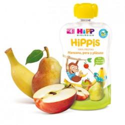 Hipp Biológico Bolsita Hippis Manzana, Pera y Plátano 100gr.