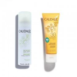 CAUDALIE pack Crema Solar Facial Antiarrugas SPF30 + Agua de Uva