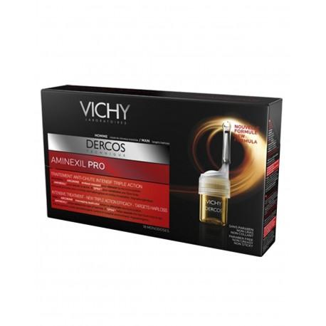 VICHY Dercos Aminexil Pro Hombre 18 Ampollas