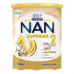 NAN Supreme2 Leche de Contiuacion en Polvo 800gr