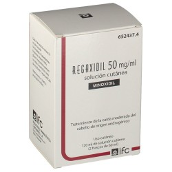 REGAXIDIL Minoxidil 50MG/ML 2x60ML