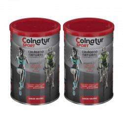 COLNATUR Sport Neutro Colágeno Soluble DUPLO 2x330g