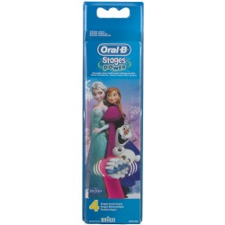ORAL-B Recambios Cepillo Electrico Frozen 4 Cabezales