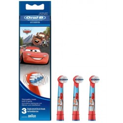 """ORAL-B Stages Power Infantil """"Cars"""" 3 Recambios"""