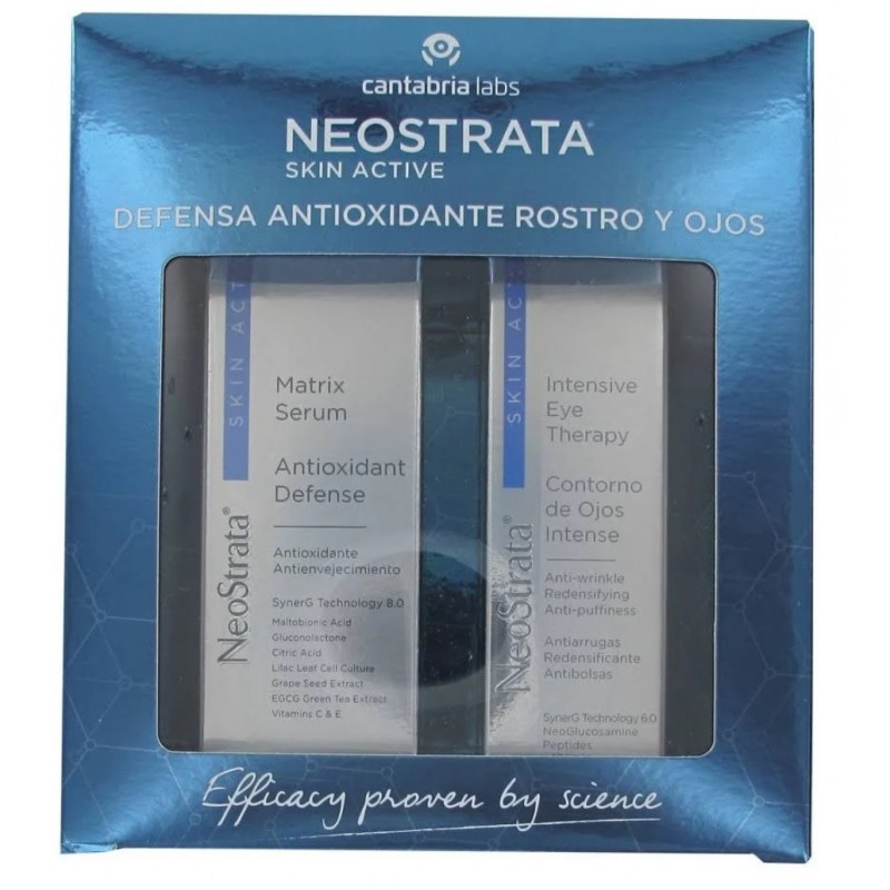 NEOSTRATA Pack Skin Active Matrix Serum 30ml+Contorno Ojos Intense 15gr