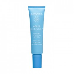 Apivita Aqua Beelicious Gel Contorno de Ojos Refrescante Roll-On 15ml