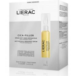 LIERAC Cica-Filler Serum Antiarrugas Reparador 3x10ml