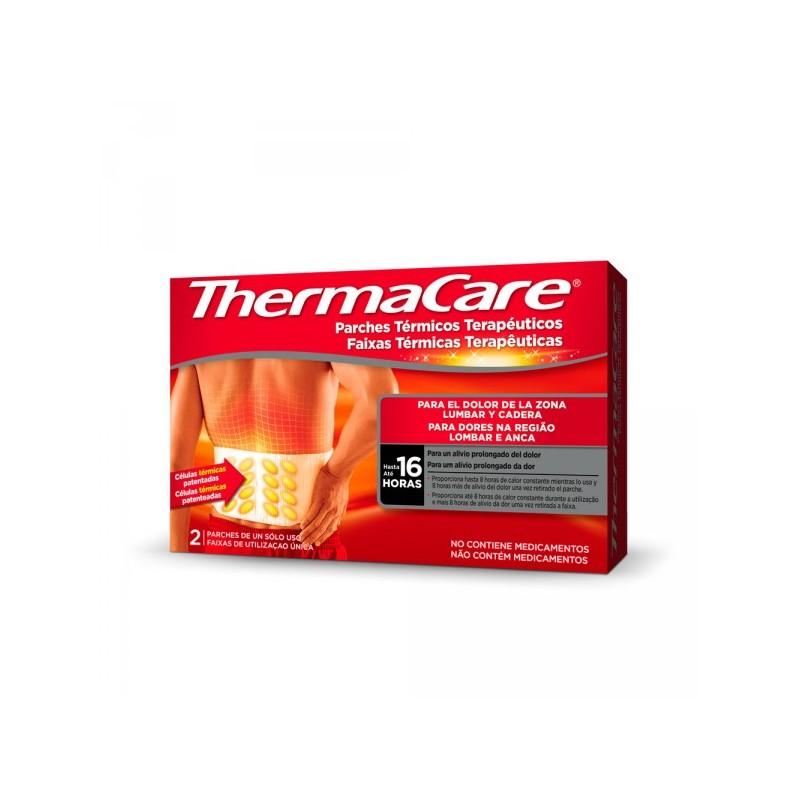 THERMACARE Parches de Calor para Dolor Zona Lumbar y Cadera 2uds