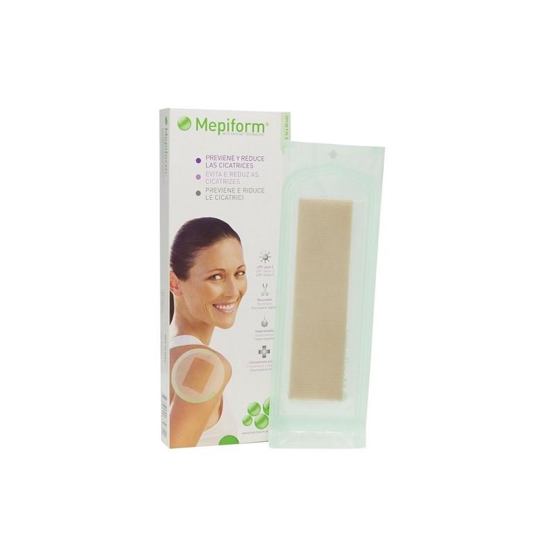MEPIFORM Parche Silicona Reductor de Cicatrices 4x30cm (5 apositos)