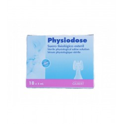 PHYSIODOSE Suero Fisiologico Esteril 18x5ml