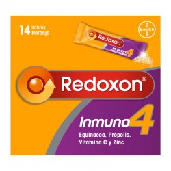REDOXON Inmuno 4 Vitaminas Defensas Naturales 14 Sobres