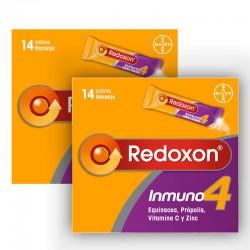 REDOXON Inmuno 4 Duplo Vitaminas Defensas Naturales 2x14 Sobres