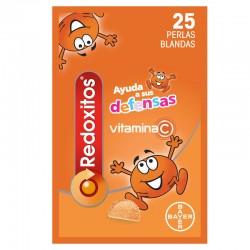 REDOXITOS Vitaminas y Defensas 25 Perlas Blandas sabor Naranja